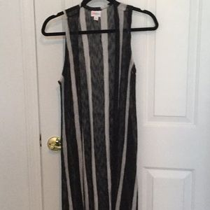 New-LuLaroe Black & Gray Joy Size- XS